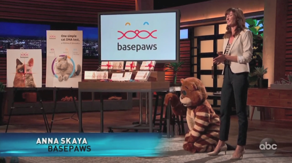 Anna Skaya and Basepaws on Shark Tank